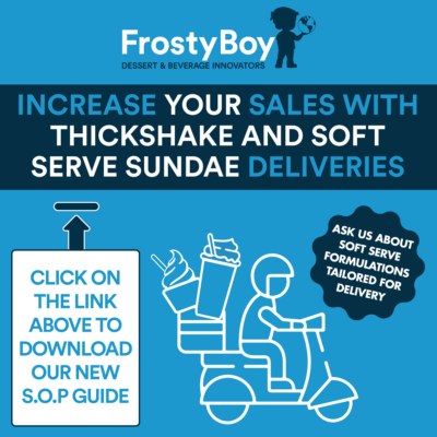 Increase your sales with Soft Serve Sundae and Thickshake Deliveries